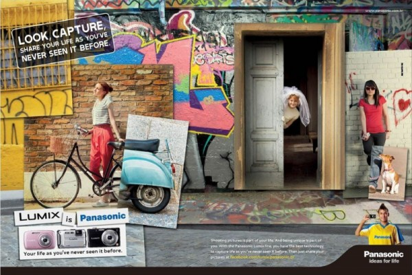 Panasonic ads