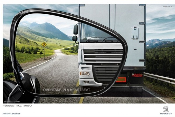 Peugeot outdoor ads