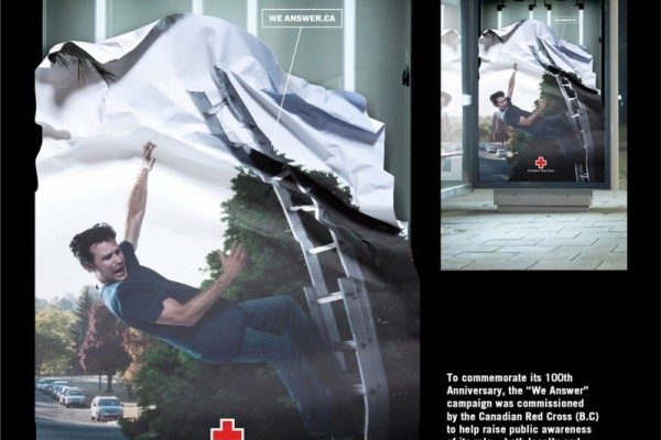 Red Cross ads