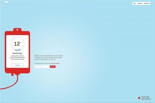 """Red Cross: """"Donate today"""" by BBDO"""