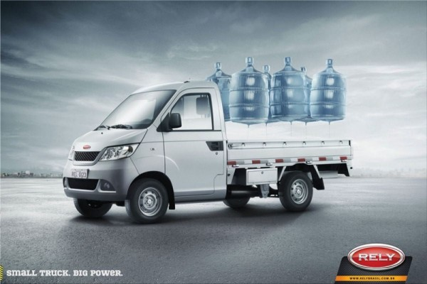 Rely Trucks print ads