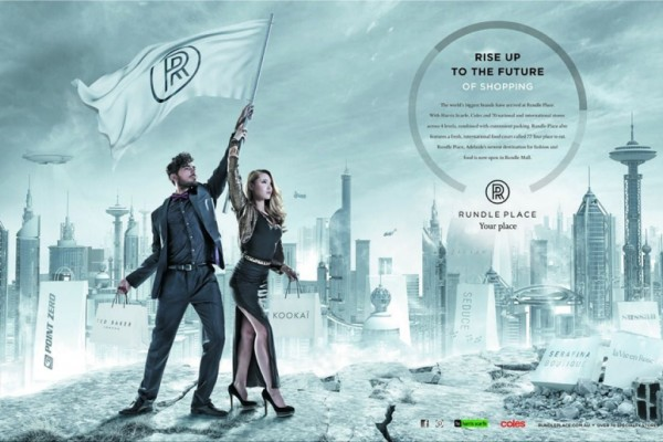 Rundle Place print ads