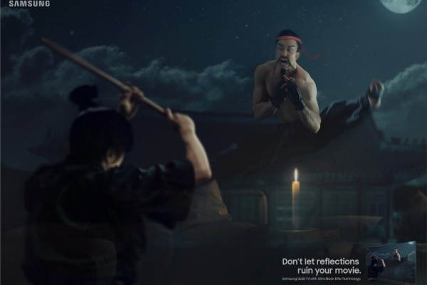 "Samsung ""Don't let reflections ruin your movie"""