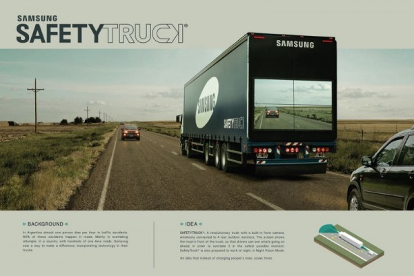 Samsung: Safety truck