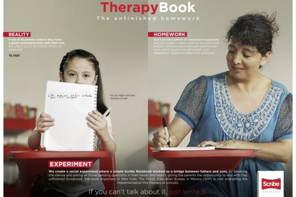 "Scribe ""Therapy Book"" by Archer Troy"