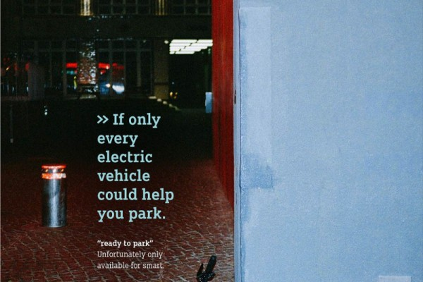 """Smart """"Bad Parking"""" ready to park"""