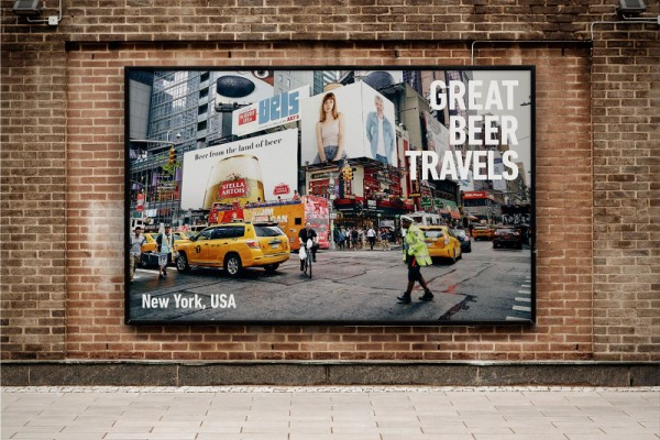 """Stella Artois """"Great Beer Travels"""" by TBWA"""
