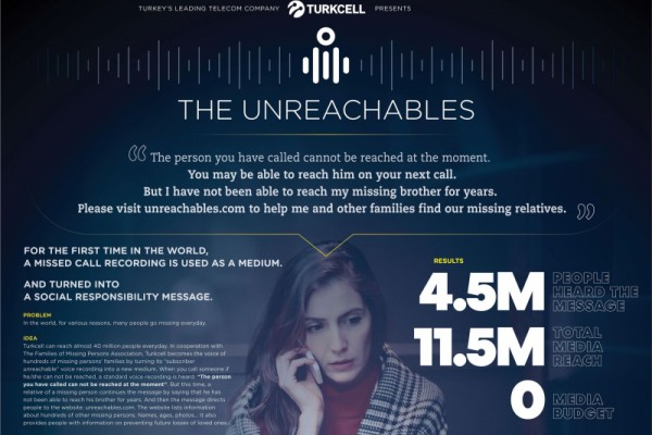 "Turkcell ""The Unreachables"" by TBWA"