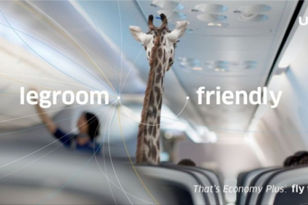 United Airlines ads