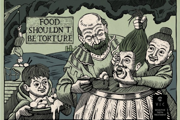 "VIC Dental Clinic ""Food shouldn't be torture"""