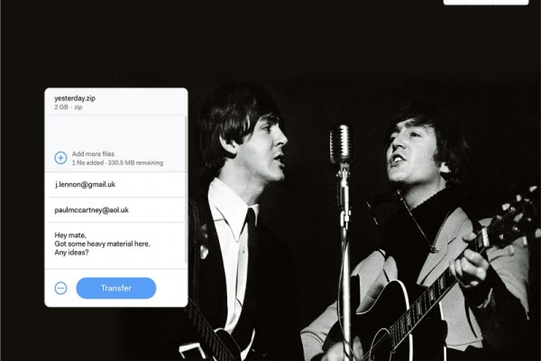 "WeTransfer ""Share to Perfect"""