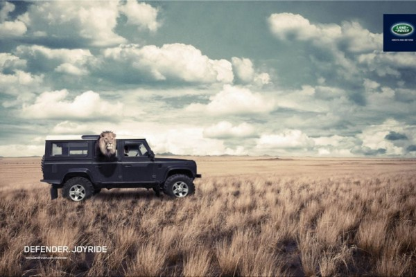 Land Rover ads