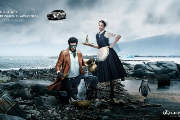"Lexus: ""experience amazing"" by Ogilvy"