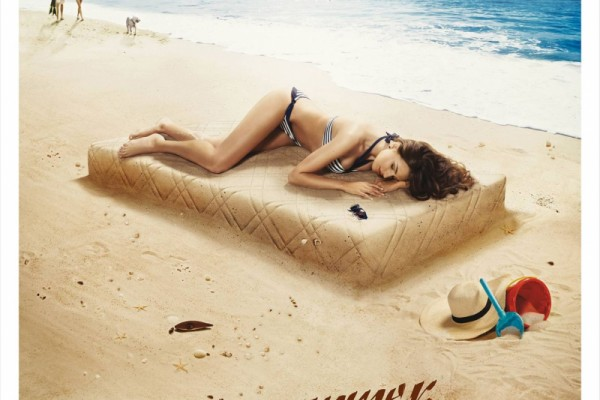 Lonas Mattresses outdoor ads