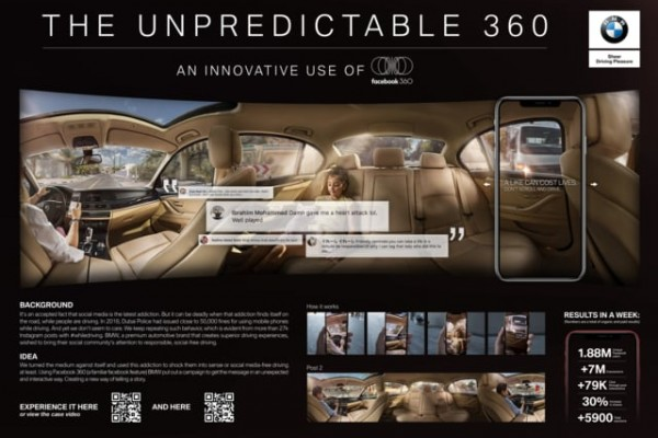 "BMW ""The Unpredictable 360"""