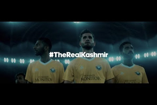 """Adidas """"#TheRealKashmir"""" by Cheil India"""