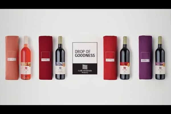 "Galil Mountain Winery ""Drop of Goodness"" by Leo Burnett Israel"
