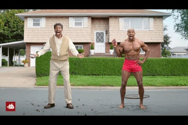 Old Spice : Nightmare Face
