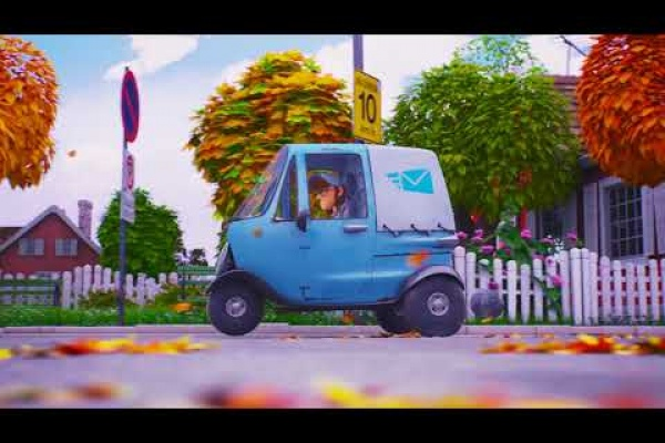 Renault ZE - The Postman by Publicis Conseil, France