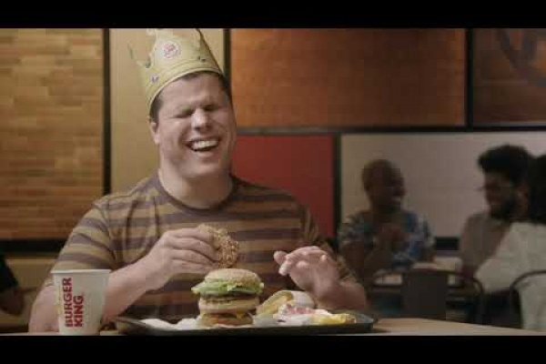 "Burger King ""a blind Caucasian male"""