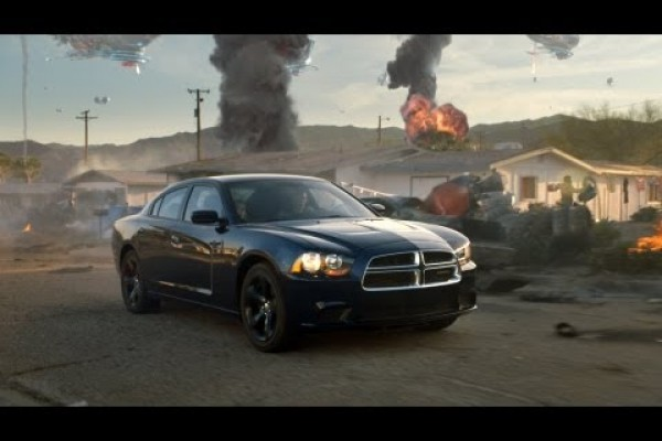 Dodge Charger in action on Syfy's Defiance