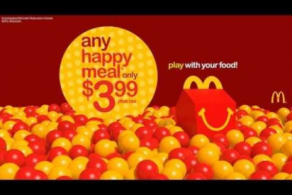 McDonald's: Play with your food!