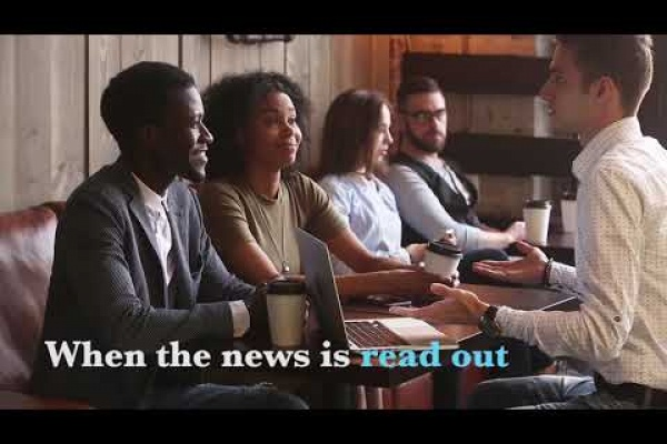 """The New York Times """"Alexa Reads The News"""""""