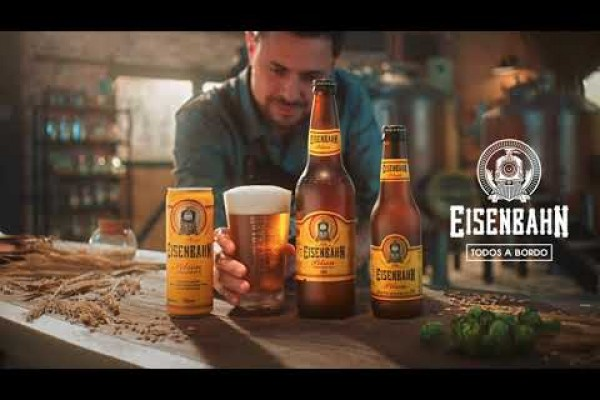 "Eisenbahn  ""No detail is too small for beer lovers"""