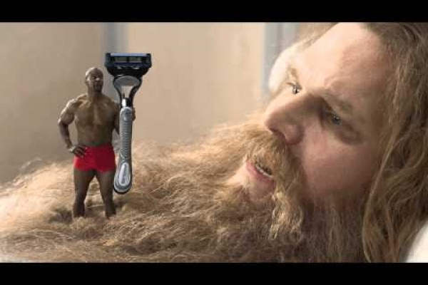 Old Spice: shaving gel for unwanted hairs
