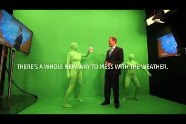 The Weather Channel: There's a whole new way to mess with the weather.