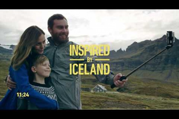 Come and Be Inspired by Iceland