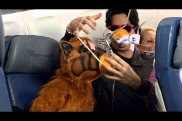 Delta Airlines: In-Flight Safety Video