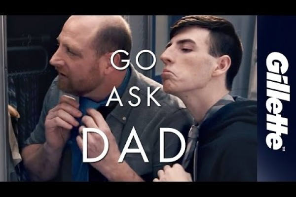 This Father's Day, Go Ask Dad   Gillette