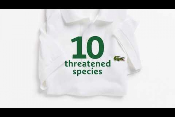 """Lacoste: """"Save Our Species"""" by BETC"""
