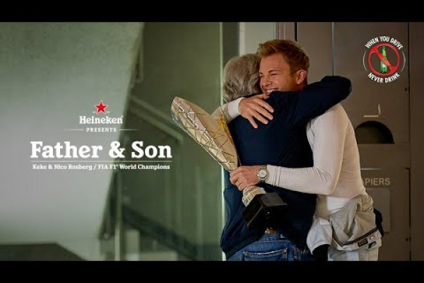 "Heineken ""Father&Son"" the better driver is always the one who doesn't drink"