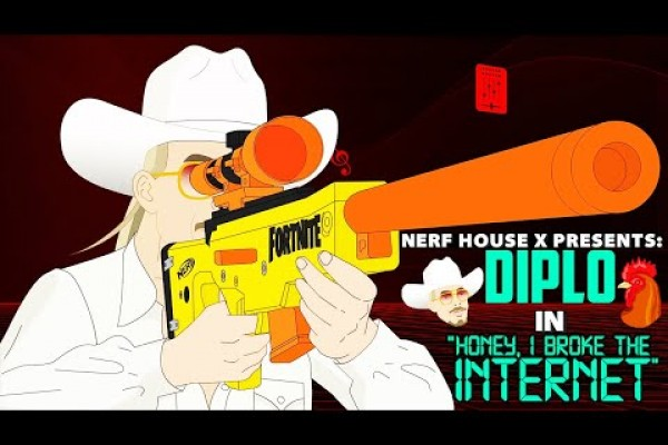 Hasbro brings celebrities to animated life for NERF House X
