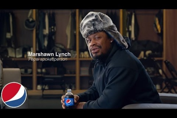 Marshawn Lynch has agreed to be Pepsi's newest spokesman