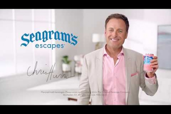 "Seagram's Escapes ""Keep it colorful!"" with Reality TV host Chris Harrison"