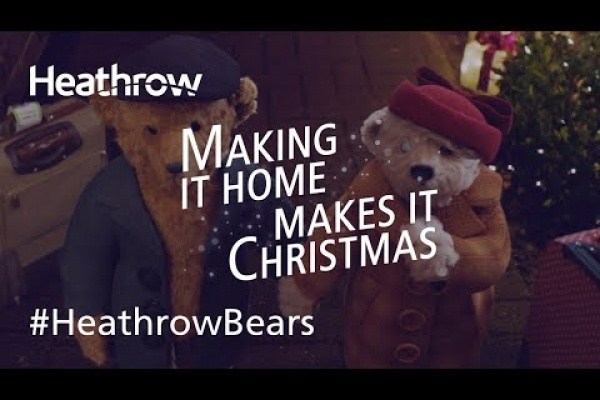 "Heathrow Airport ""The Heathrow Bears Return"" by Havas"