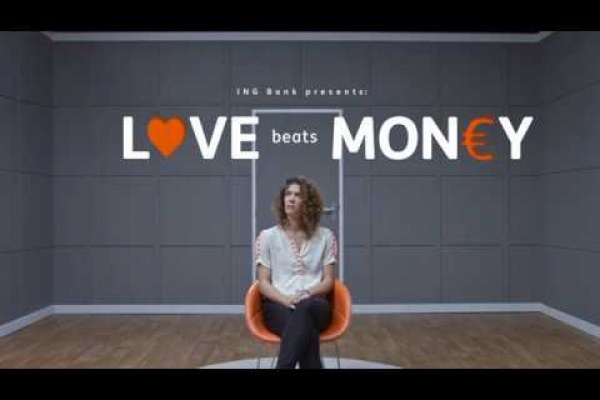 "ING: ""Love Beats Money"" by JWT"