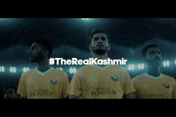 "Adidas ""#TheRealKashmir"" by Cheil India"