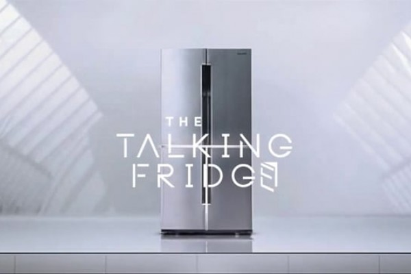 The Samsung Talking Fridge: A fridge with the gift of the gab