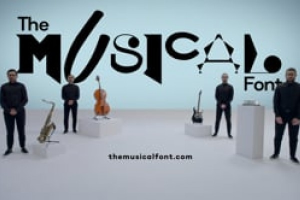 "Fizy ""The Musical Font"" by TBWA"
