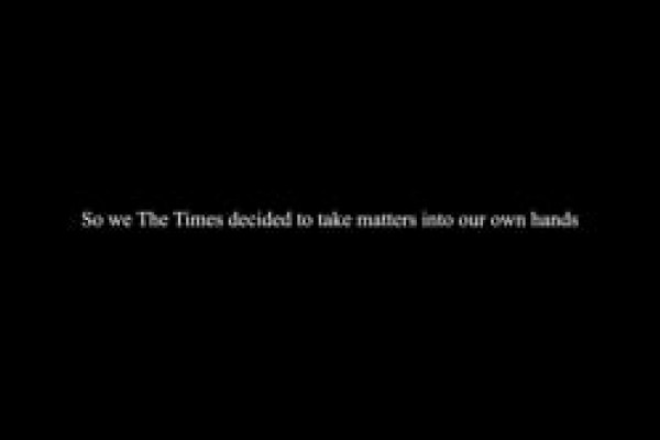 "The Times ""Time To Act"""