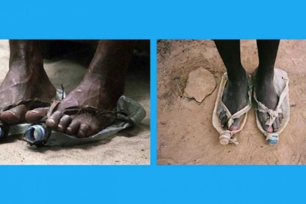 UNICEF: Put yourself in their shoes