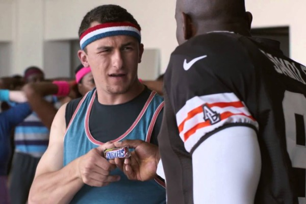 Snickers: Johnny Football