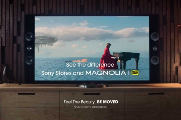 Sony: 4K out of everything you can see