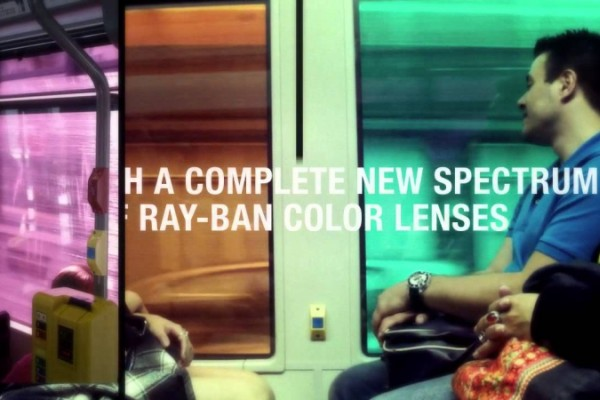Ray-Ban with 9 different color filters
