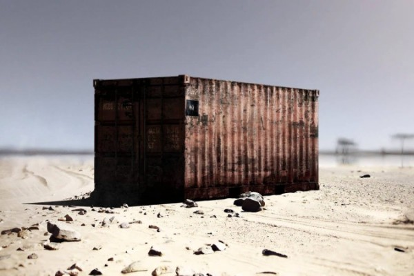 "Reporters Without Borders: ""This is not a container, it's a prison"""