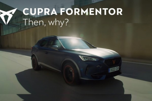 The new global advertising campaign for Cupra Formentor